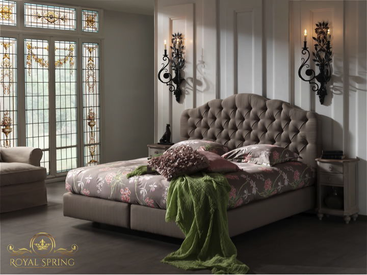royal spring baroness boxspringbett mit best price. Black Bedroom Furniture Sets. Home Design Ideas