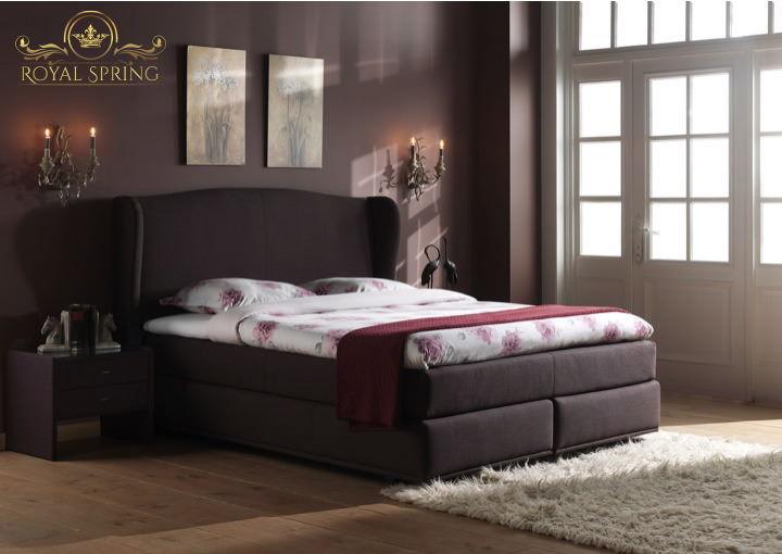 royal spring queen boxspringbett. Black Bedroom Furniture Sets. Home Design Ideas