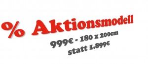 Aktionsmodell 999€ statt 1.899€
