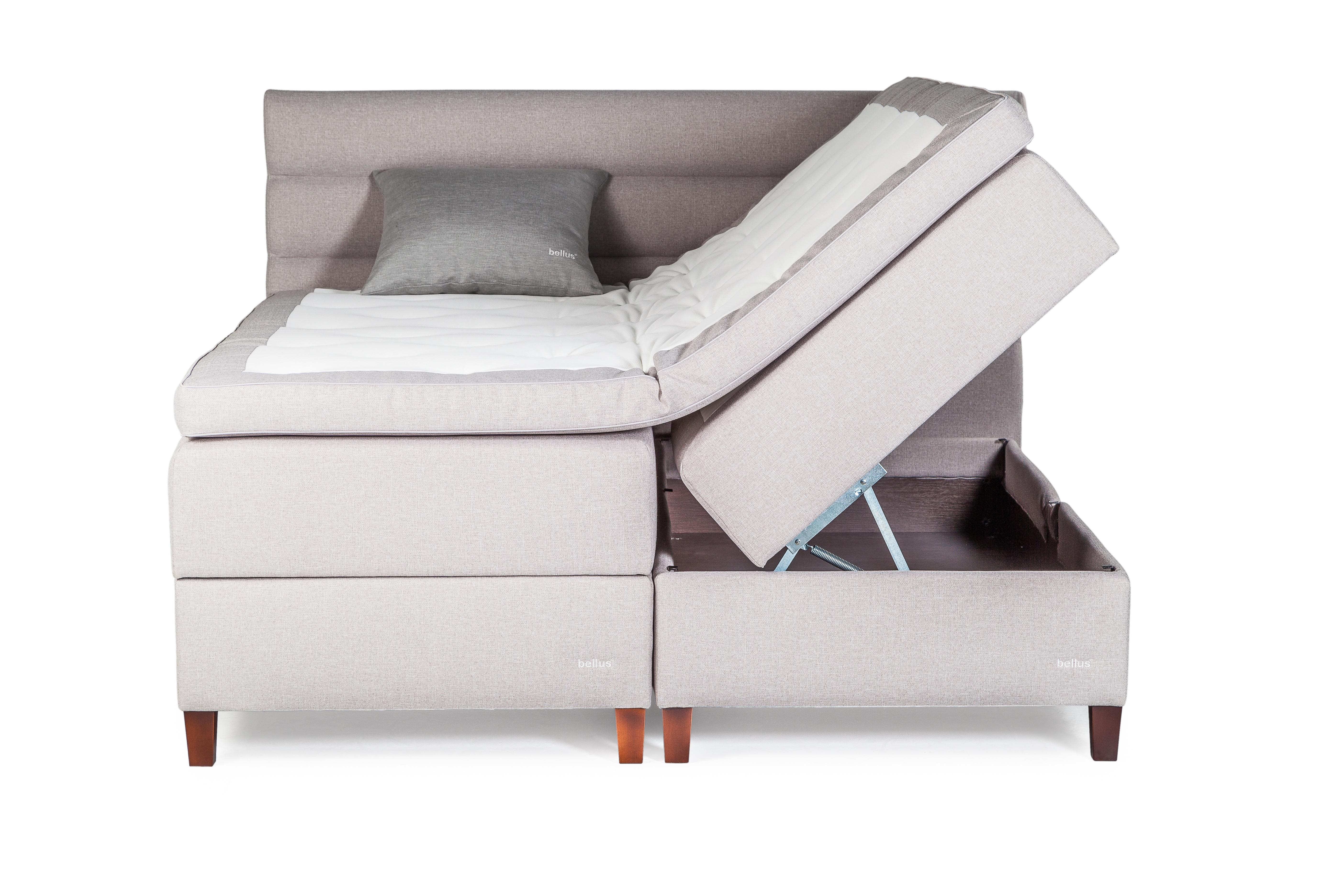 Bellus Compact Bliss Polsterbett mit Bettkasten und Stauraum